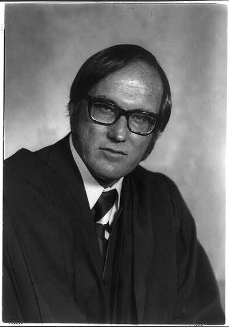 [Official portraits of the 1976 U.S. Supreme Court: Justice William  H. Rehnquist]