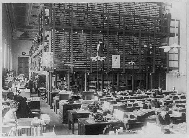 Library of Congress. Card Division. General view