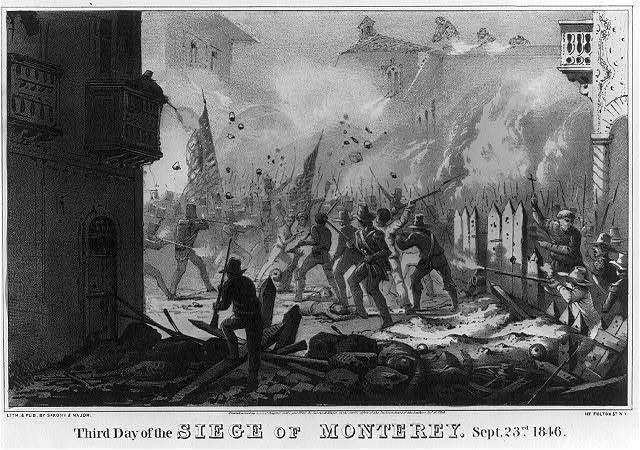 Third day of the siege of Monterey [sic]--Sept. 23rd 1846