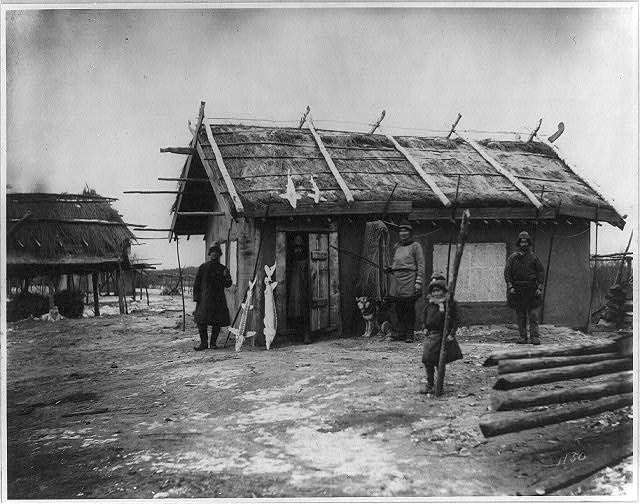 [Goldi village along the Amur River, north of Khabarovsk]