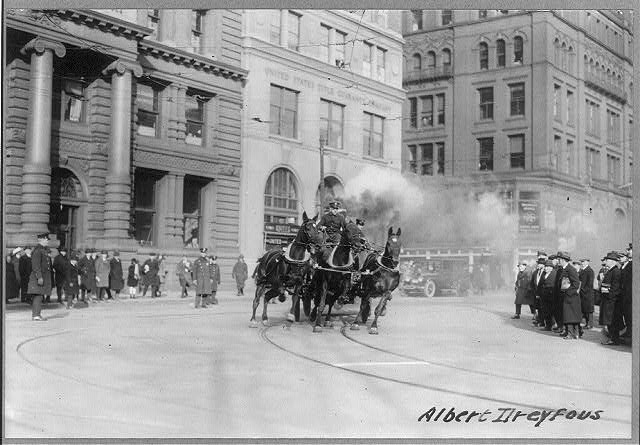 The last of the Horses Engine Co. 205, New York Fire Department
