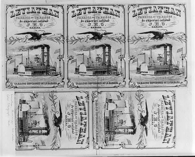 Leviathan fabrica de Tabacos de superior calidad - J.H.O. Habana