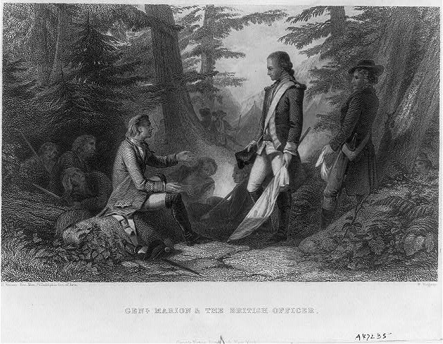 Gen. Francis Marion & the British officer