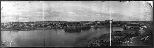 Fairbanks, Alaska from across Chena River, June 1, 1905