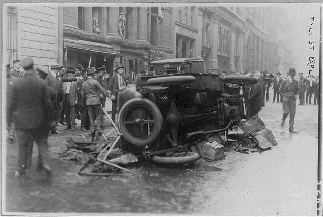 Anarchist bombings, New York City