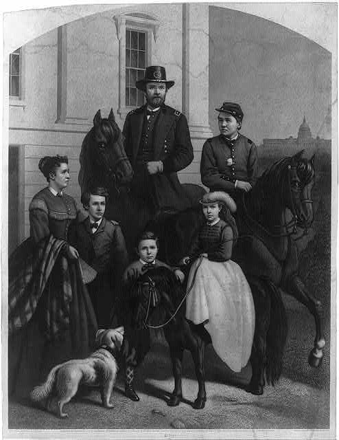 [General Grant & his family]