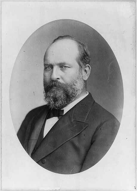 James Abram Garfield, 1831-1881