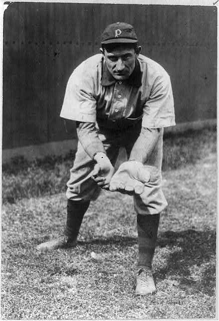 "[John Peter ""Honus"" Wagner, shortstop, Pittsburgh, National League]"