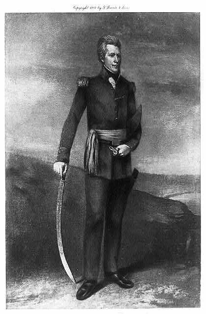 Andrew Jackson, Pres. U.S.