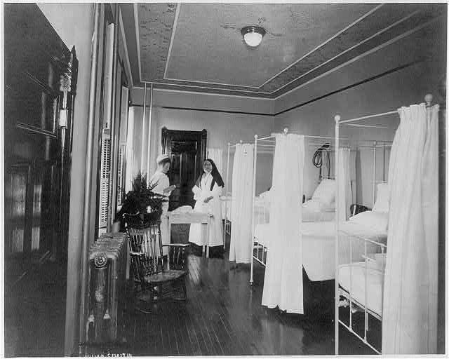 Ward C. St. Josephs Hospital, Willimantic, Conn.