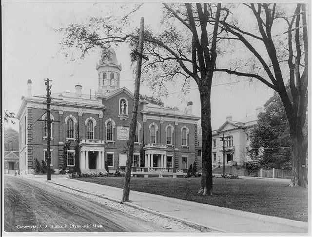 [Plymouth] County Court House and Registry of Deeds, Plymouth, Mass.