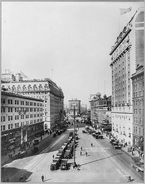 [New York City: Long Acre Square, north]