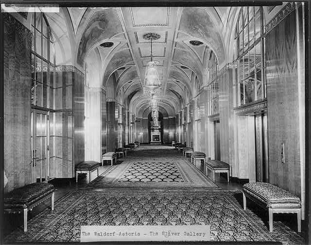 The Waldorf-Astoria Hotel, New York City: The Silver Gallery