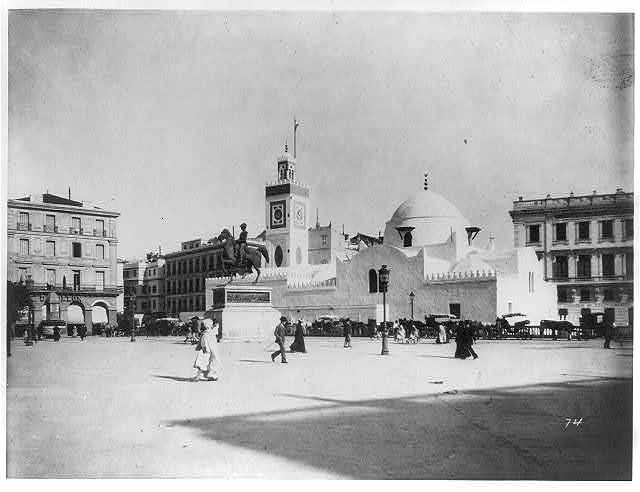 Algiers - the new Mosque Djamaa, El-Djedid