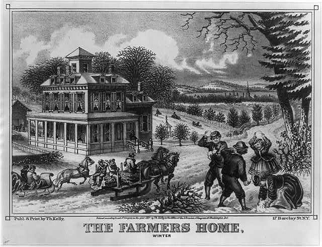 The farmers home, winter