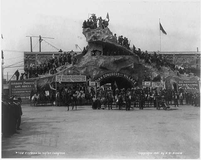 Pan-American Exposition, Buffalo, N.Y., 1901: Entrance to Indian Congress