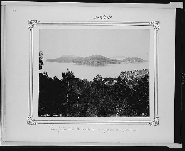 [View of the Princes Islands]