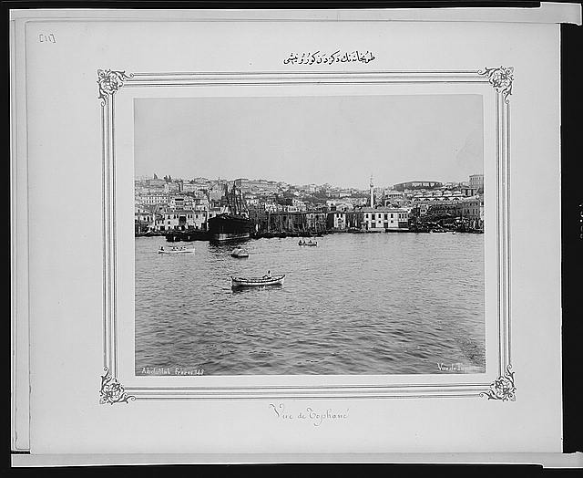 [View of Tophane from the sea]