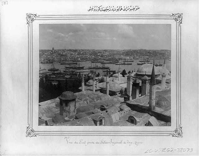 [View of the Golden Horn from the Topkapı Sarayı (palace)]