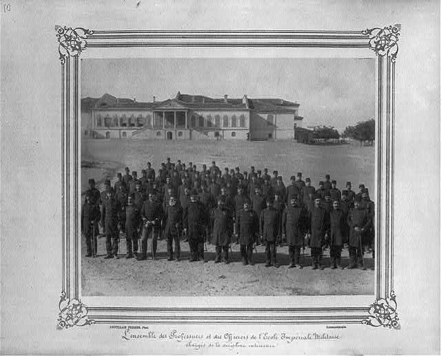 [Professors and officers at the Imperial Military Academy, in charge of internal discipline]