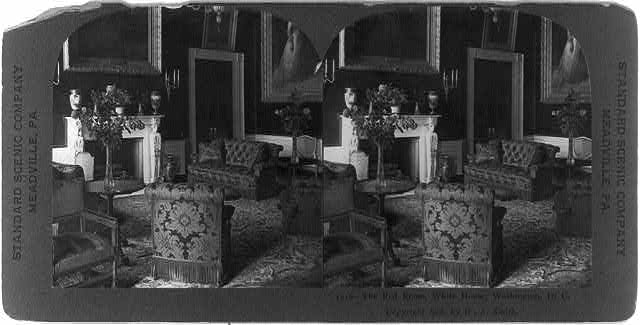 The Red Room, White House, Washington, D.C.