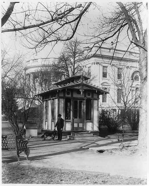 Park watchman's lodge at the White House