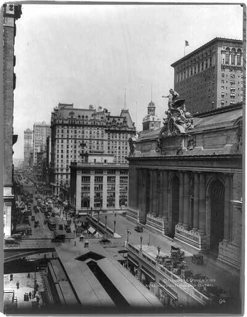 Forty Second St. looking West from Grand Central Station