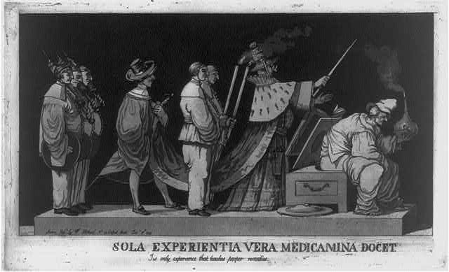 Sola experientia vera medicamina docet. Tis only experience that teaches proper remedies