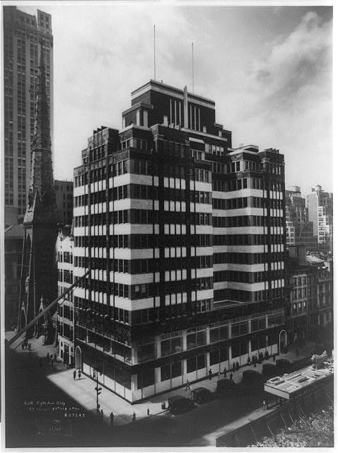 608 - Fifth Ave. Bldg., S.W. corner of 49th St. & 5th Ave., [New York City]