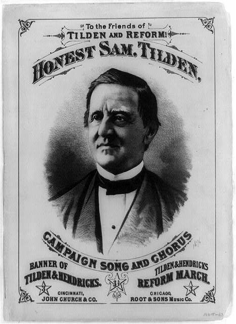 Honest Sam. Tilden, Campaign Song and Chorus