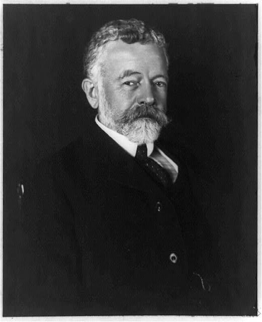 [Henry Cabot Lodge, half-length portrait, facing right]