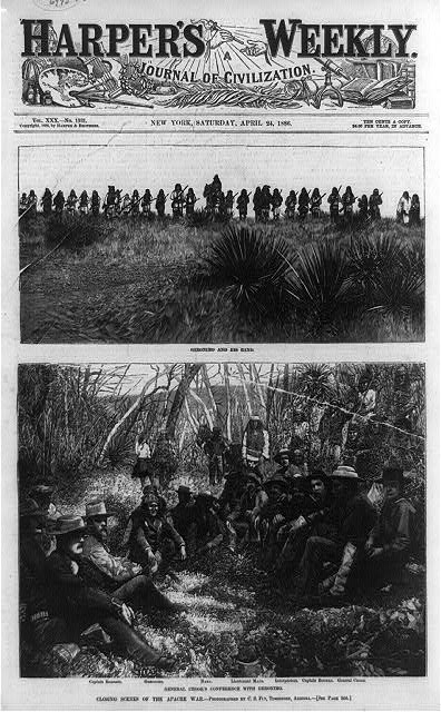 Closing scenes of the Apache war