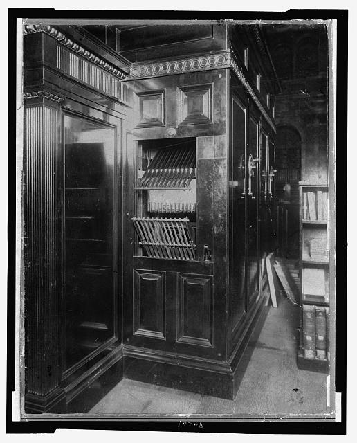 Library of Congress--Book conveyors