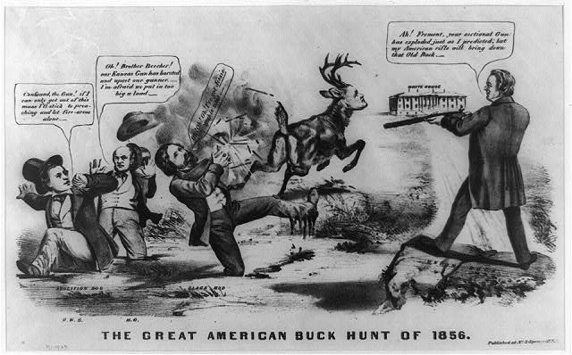 The great American buck hunt of 1856