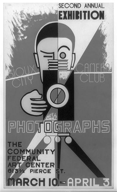 Photographs, second annual exhibition, Sioux City Camera Club