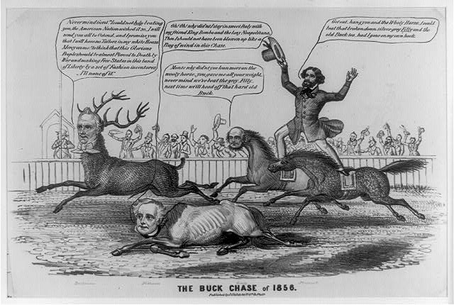 The buck chase of 1856