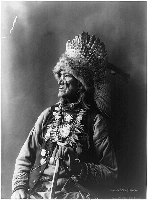 Chief Red Cloud--Cayuga