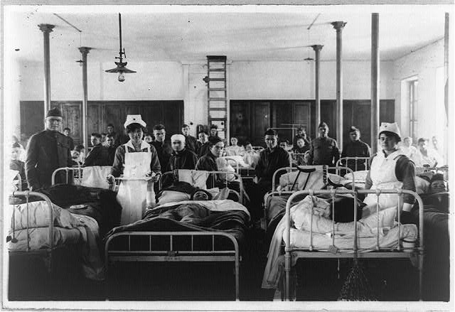 Ward #4, Annex #7, American Hospital, Blois, France