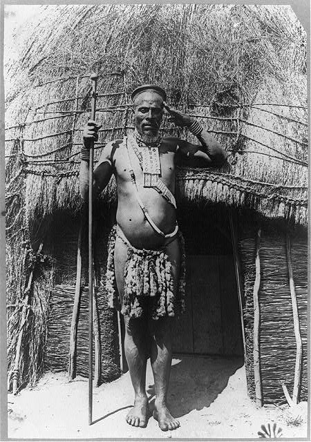 Zulu chief, South Africa