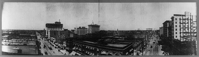 [Bird's-eye panoramic view of Oklahoma City, Okla.]