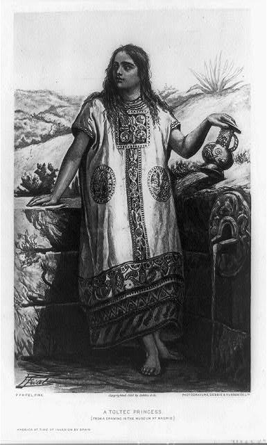 A Toltec princess
