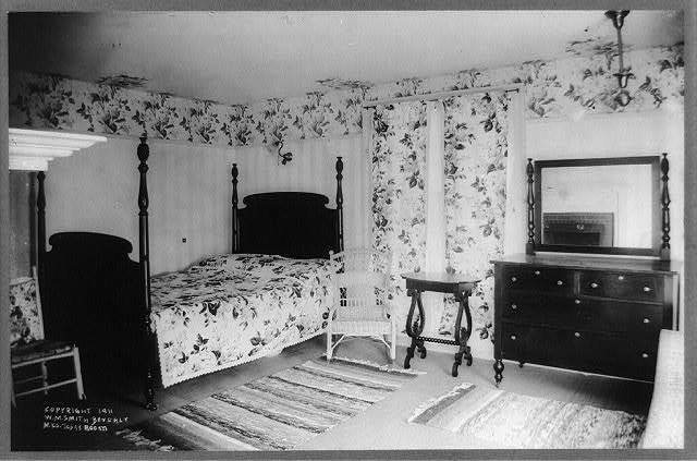 Mrs. Taft's room; Pres. Taft's house, Beverly, Massachusetts