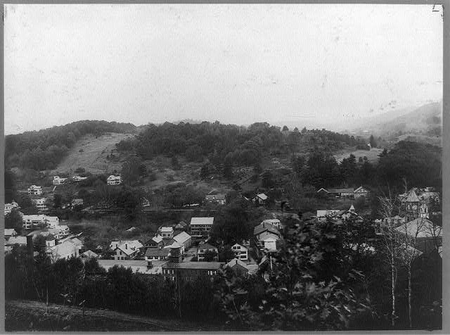 [View from hill of Hinsdale, New Hampshire]