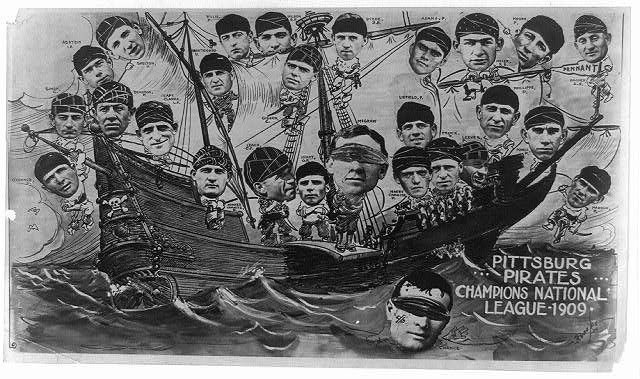 Pittsburg Pirates, champions National League, 1909