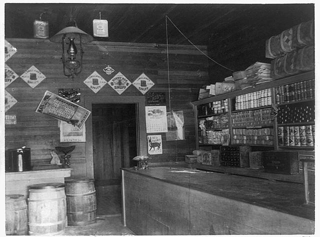 [Interior view of grocery store in Georgia]