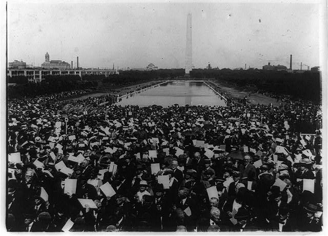Dedication of the Lincoln Memorial