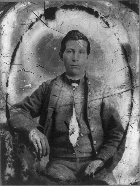 [Private John J. Rhodes of Company K, 5th Virginia Infantry Regiment, C.S.A. (Stonewall Brigade)]