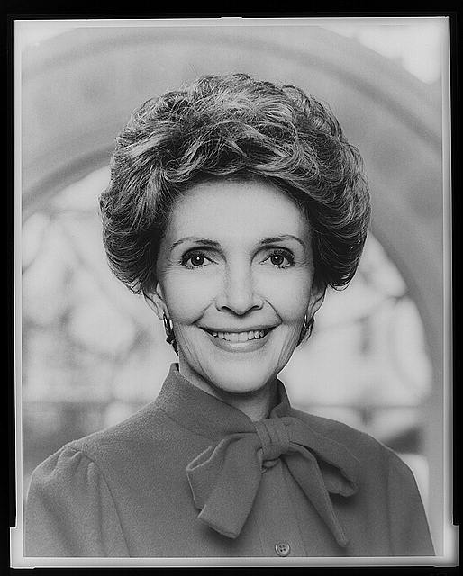 [Mrs. Ronald Reagan, head-and-shoulders portrait, facing front]
