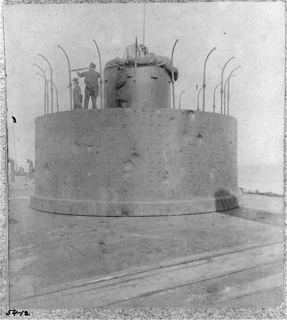 The monitor Passaic, Port Royal, S.C., 1863