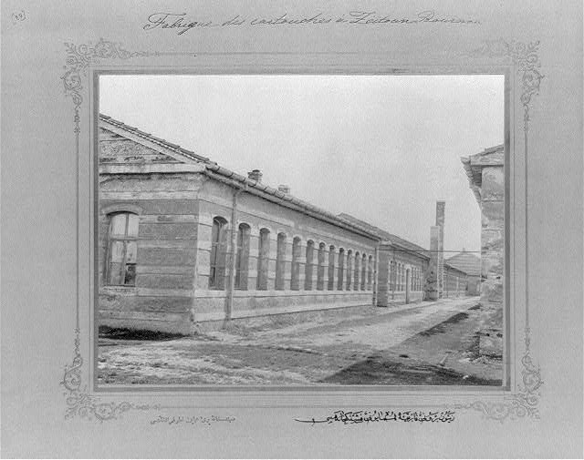[The cartridge factory at the imperial factory in Zeytinburnu]